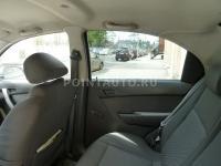 Тонирование Chevrolet Aveo 4D вид изнутри