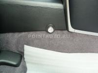 Установка бесштыревого блокиратора КПП на автомобиль Toyota Land Cruiser 200
