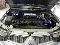 Установка механической защиты АККП Fortress на автомобиль Mitsubishi L200