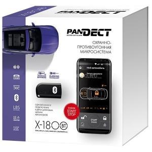 Начальный комплекс на базе сигнализации  Pandect X-1800 BT