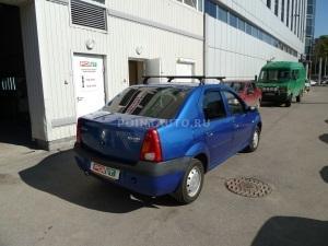 Тонирование стекол Renault Logan пленкой SunTek HP 15