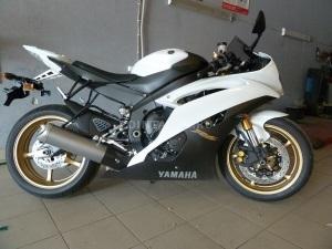Установка сигнализации на Yamaha R6