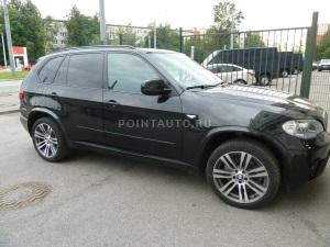Тонирование стекол BMW X5 (E 70) пленкой SunTek HP-15