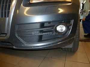 Установка электроподогревателя Defa на Audi Q5
