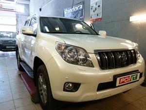 Установка сигнализации Pandora DXL 4400 на Toyota Land Cruiser Prado 150