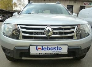 Установка подогревателя Webasto на Renault Duster Expression 4x4