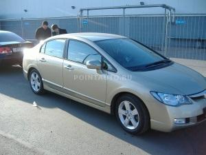 Тонирование стекол Honda Civic 4D пленкой Infinity 10