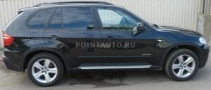 Тонировка BMW X5 пленкой SunTek HP 15