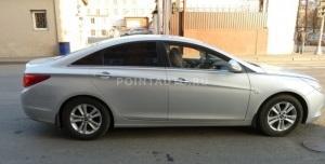 Тонирование стекол Hyundai Sonata 2011 пленкой SunTek HP 05