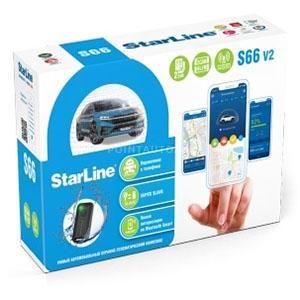 StarLine S66 V2 BT 2CAN+4LIN 2SIM GSM